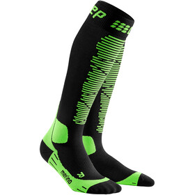 cep Merino Skisokken Heren, black/green